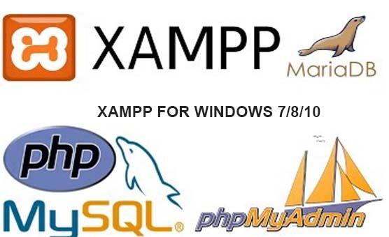 XAMPP FOR WINDOWS7810 32BIT AND 64BIT