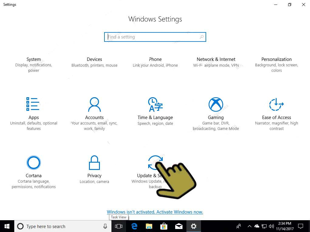Update-Security-windows-10