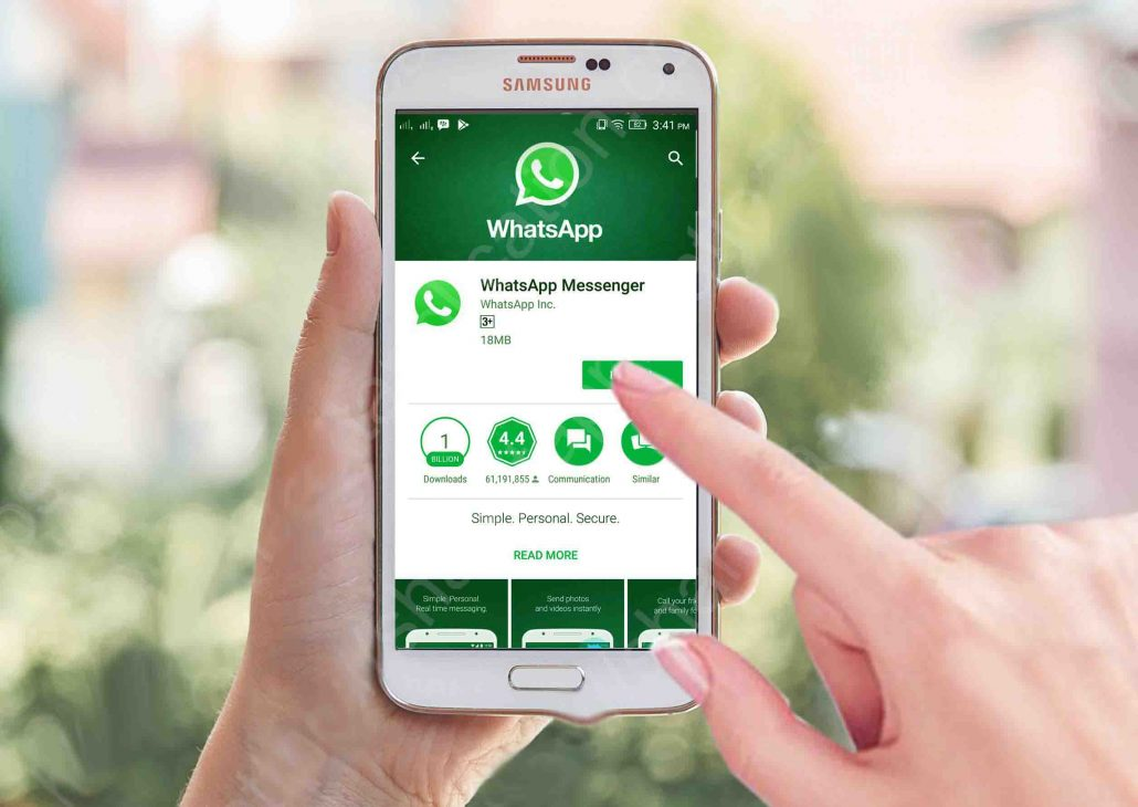 Free Download of Whatsapp messenger for different devices