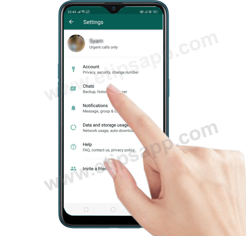 Backup history chat whatsapp to google drive