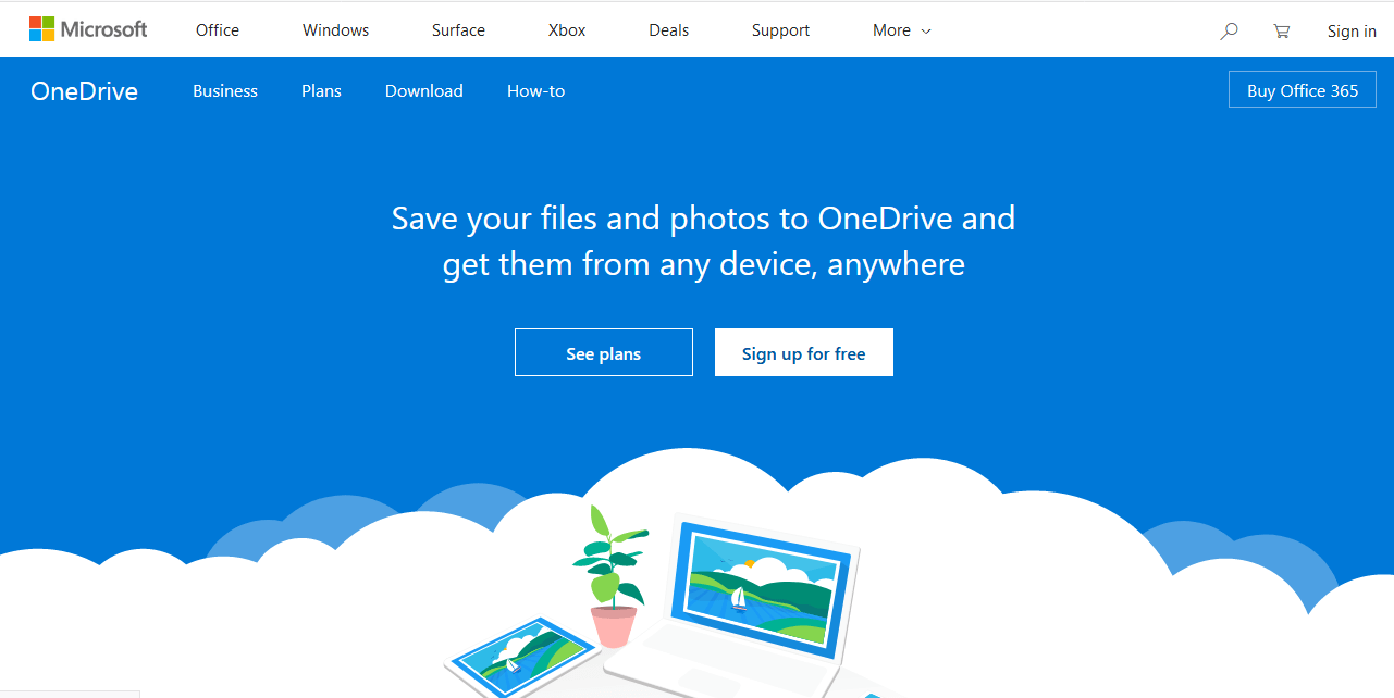 Best online file sharing websites Onedrive