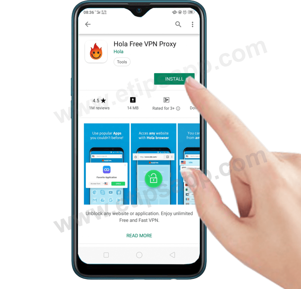 Hola free VPN proxy download for android